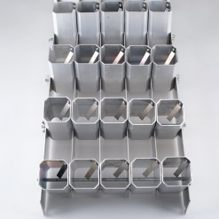 rack for pyrotechnics