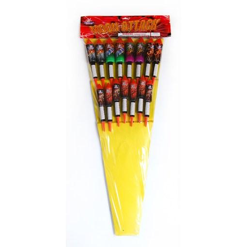 Rocket pack fireworks