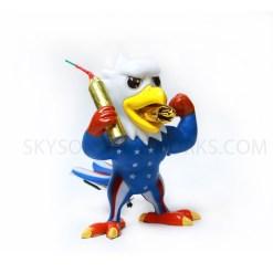 USA Patriotic Eagle fireworks, a novelty with fireworks, popular for kids