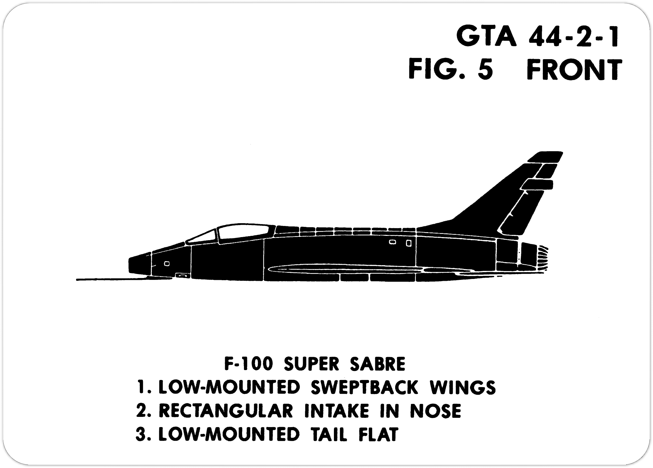 Visual Aircraft Recognition Hq Department Of The Army Gta 44 2 1