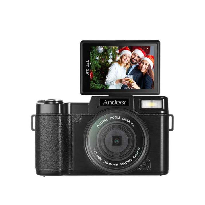 Andoer R1 1080P 15fps Full HD 24MP Digital Camera Cam Camcorder