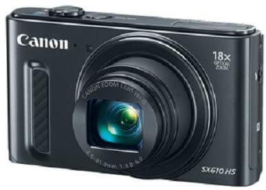 Canon Power Shot SX610 HS - Wi-Fi Enabled (Black)