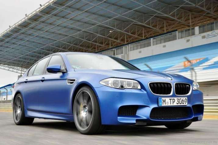 BMW M5 launched in 2013