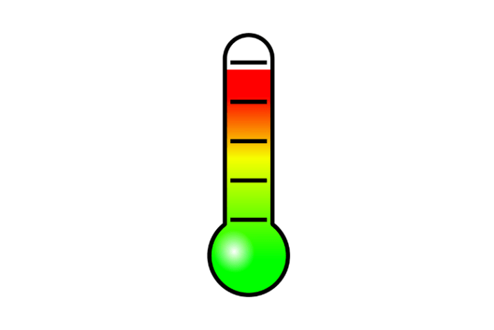 application thermomètre android