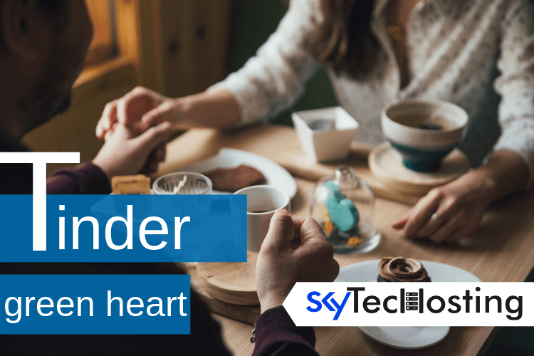 green heart tinder