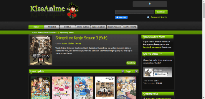 kissanime official site