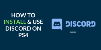 how to get discord on ps4