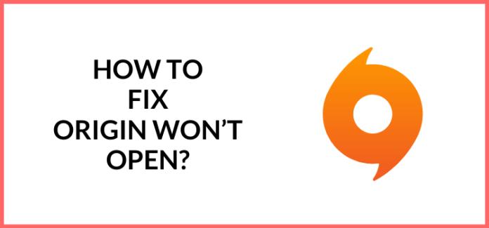 fix origin won't open