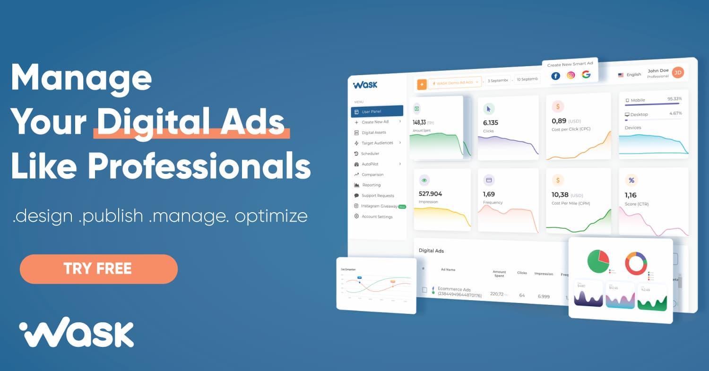 Managing Digital ads like pro