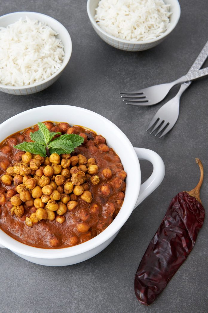 Roasted Curry Chickpeas With Sky Valley Tikka Masala Recipe