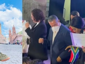 Lady Du dances to 'Jerusalema with President of Mexico – Video
