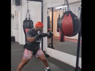 Cassper Nyovest punches hard ahead of boxing match Video