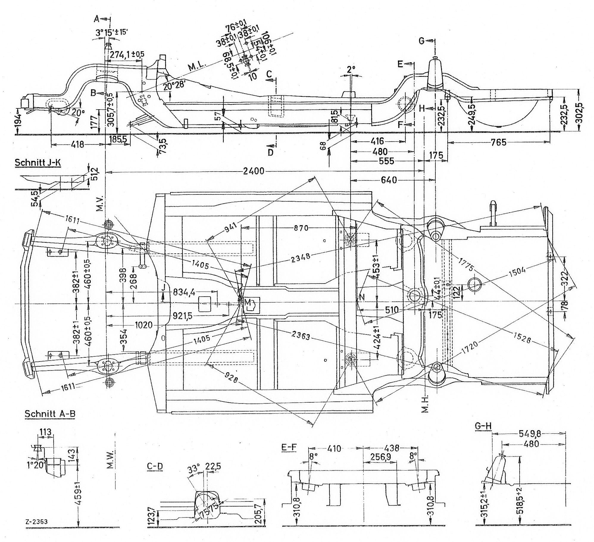 Pagoda Sl Group Technical Manual Chassisbody Chassis