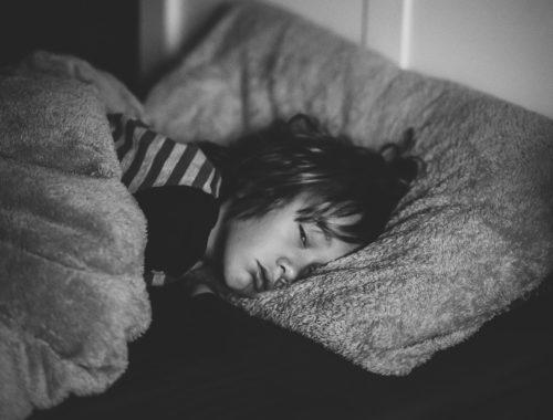 Wakker in bed insomnie Slaap Zoet
