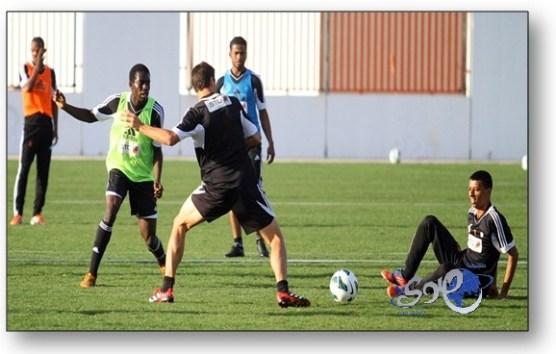 الشباب يواصل تدريباته استعداداً للقاء نادي الهلال