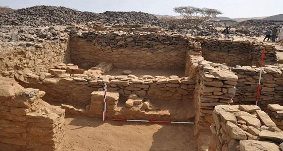 """بالصور.. """" السياحة """" تبدأ مشروع التنقيب الأثري في موقع عشم بالباحة"""