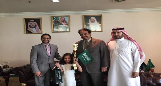 طالبة سعودية تنال المركز الثاني في مسابقة عالمية بماليزيا