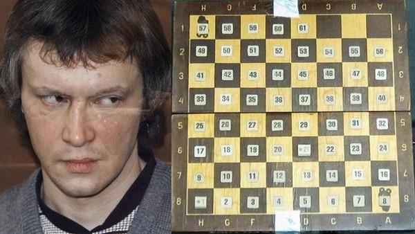 سفاح الشطرنج الروسي قتل 49 شخصا وكان يخطط لوصول ضحاياه إلى 64