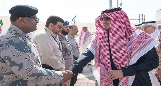 وزير الداخلية يفتتح مقر قوة أمن حقل الشيبة التابع لحرس الحدود
