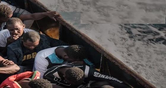 شاهد.. تعرض المهاجرين للتعذيب من قبل خفر سواحل ليبيا