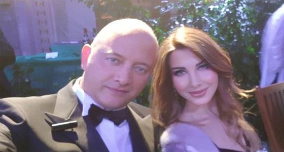 نانسي عجرم تنشر صورة برفقة زوجها