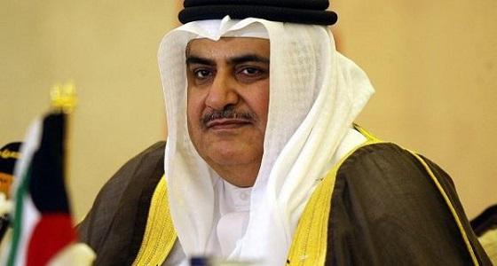 وزير خارجية البحرين: إيران الدولة باقية والنظام زائل