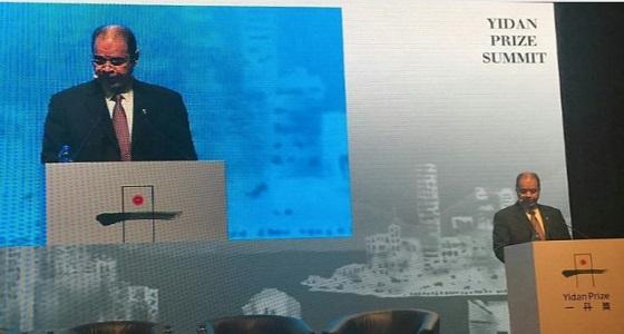 بالصور.. نص كلمة وزير التعليم في حفل جائزة يدان العالمية