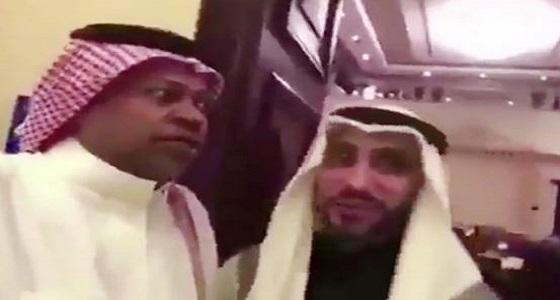 """"""" العويران """" يعتذر لسامي الجابر"""