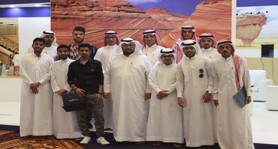 بالصور.. المؤتمر الجيولوجي الدولي ينقل الزائرين للواقع الحقيقي للمعالم الجيولوجية السعودية