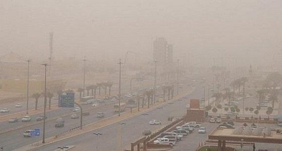 الزعاق: انحسار الموجة الباردة وانتشار الغبار ببعض المناطق