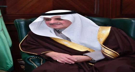 """أمير تبوك يشكر """" آل الشيخ """" لدعمه النسخة الثالثة من البطولة"""