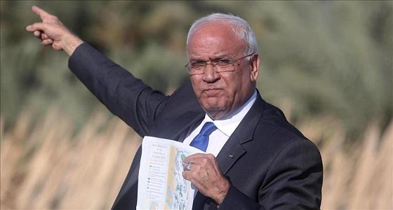 """عريقات يطالب من المبعوثة الأمريكية بالأمم المتحدة أن """" تخرس فمها """""""