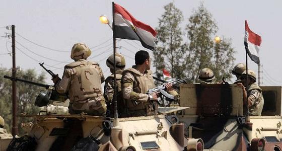 مصر: مقتل 15 إرهابيا والقبض على 153 آخرين بينهم جنسيات أجنبية بسيناء