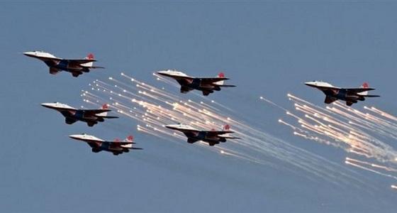 """التحالف العربي يقصف عدد من مواقع الحوثيين بـ """" صرواح """""""