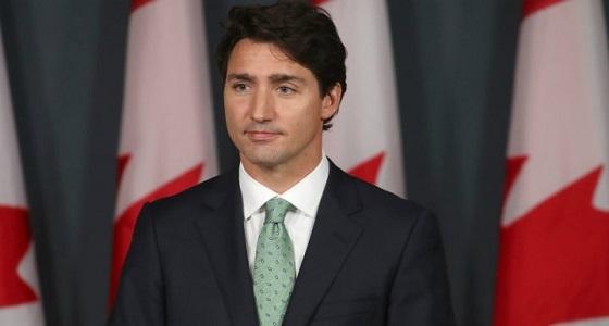 دراجة نارية تعترض موكب رئيس وزراء كندا