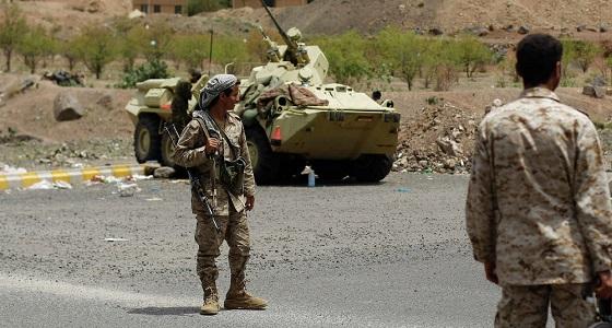 الجيش اليمني يسيطر على خب الجبلين بمديرية خب والشعب
