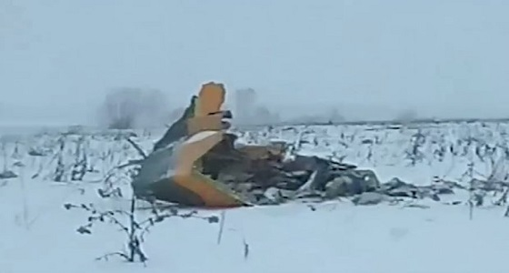 البحث عن أشلاء ضحايا الطائرة الروسية في دائرة نصف قطرها كيلو متر