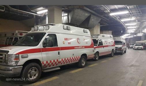 """الهلال الأحمر يسعف 38 حالة إصابة في صفوف جماهير ديربي """"جدة"""""""