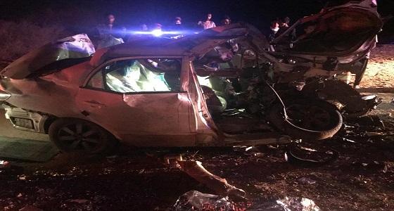 وفاة 4 أشخاص إثر حادث مروريًا بجازان