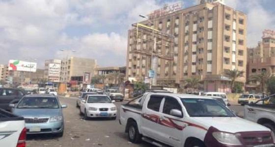 إصابة رجل وابنته في انفجار بعدن