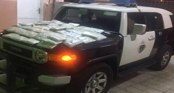 القبض على شخص بحوزته كمية كبيرة من الحشيش في جدة