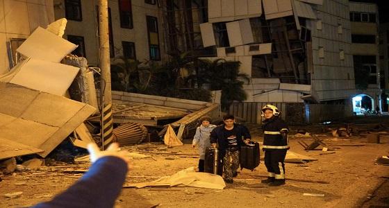 ارتفاع حصيلة ضحايا زلزال تايوان