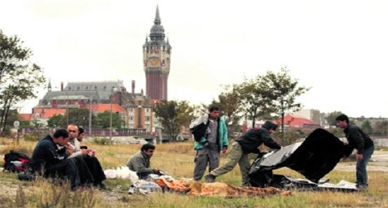 فرنسا توفر ملاجىء للمهاجرين غير الشرعيين لشدة البرد
