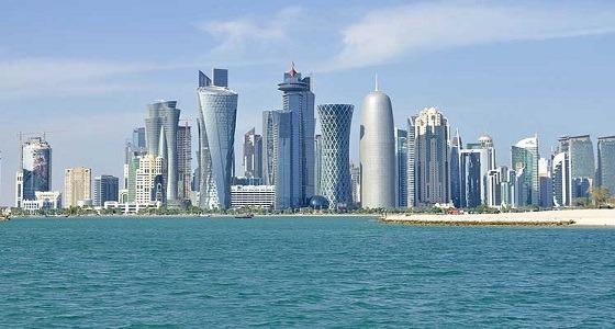 قطر ترحب بإسرائيل على أراضيها وتسرق شعار المملكة