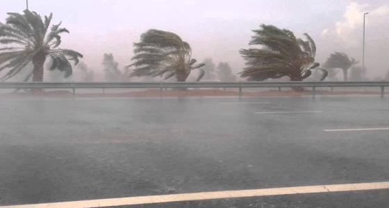 الأرصاد: الرياح المثيرة للأتربة تستمر حتى يوم الإثنين