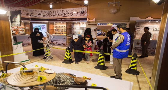 """شرطة الرياض تكشف سر الأرقام الموجودة حول """" جثة """" في الجنادرية"""