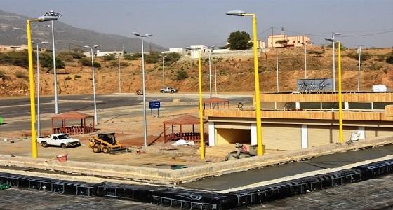 بلدية فيفاء تضع اللمسات الأخيرة على مشروع السوق العام