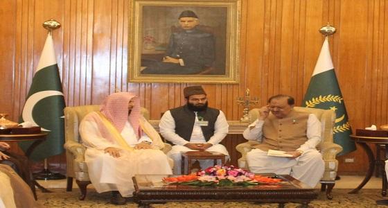 الرئيس الباكستاني: العلاقات الدفاعية بين باكستان والمملكة ستبقى قائمة