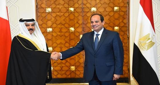 """ملك البحرين يتمنى إعطاء صوته لـ """" السيسي """" في الانتخابات الرئاسية المصرية"""