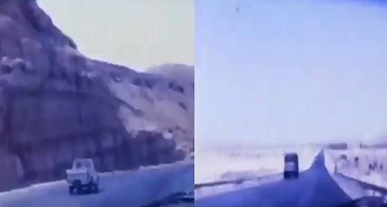 فيديو نادر لطريق الحجاز القديم عام 1979